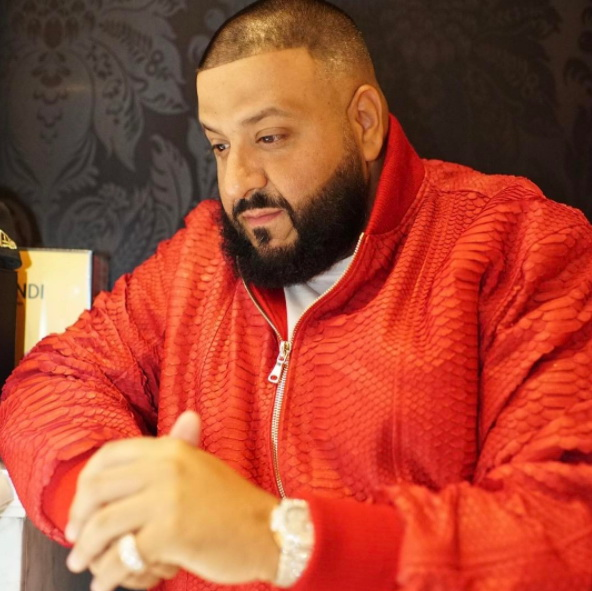 DJ Khaled Instagram username