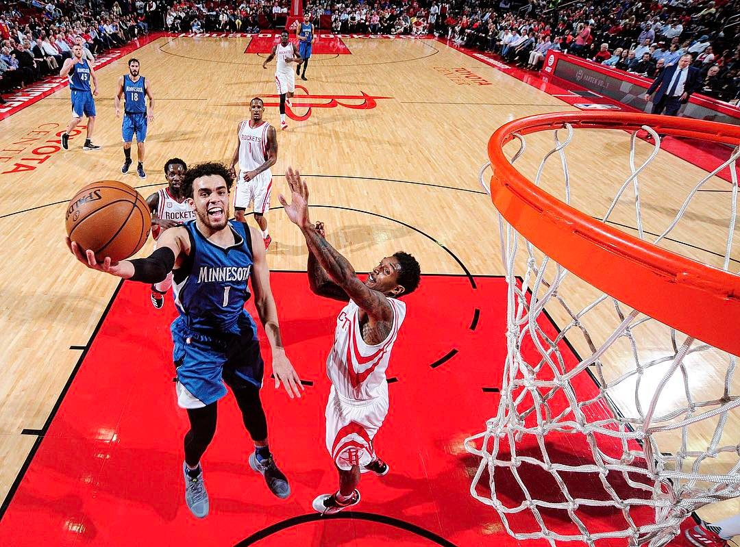 Tyus Jones Instagram username