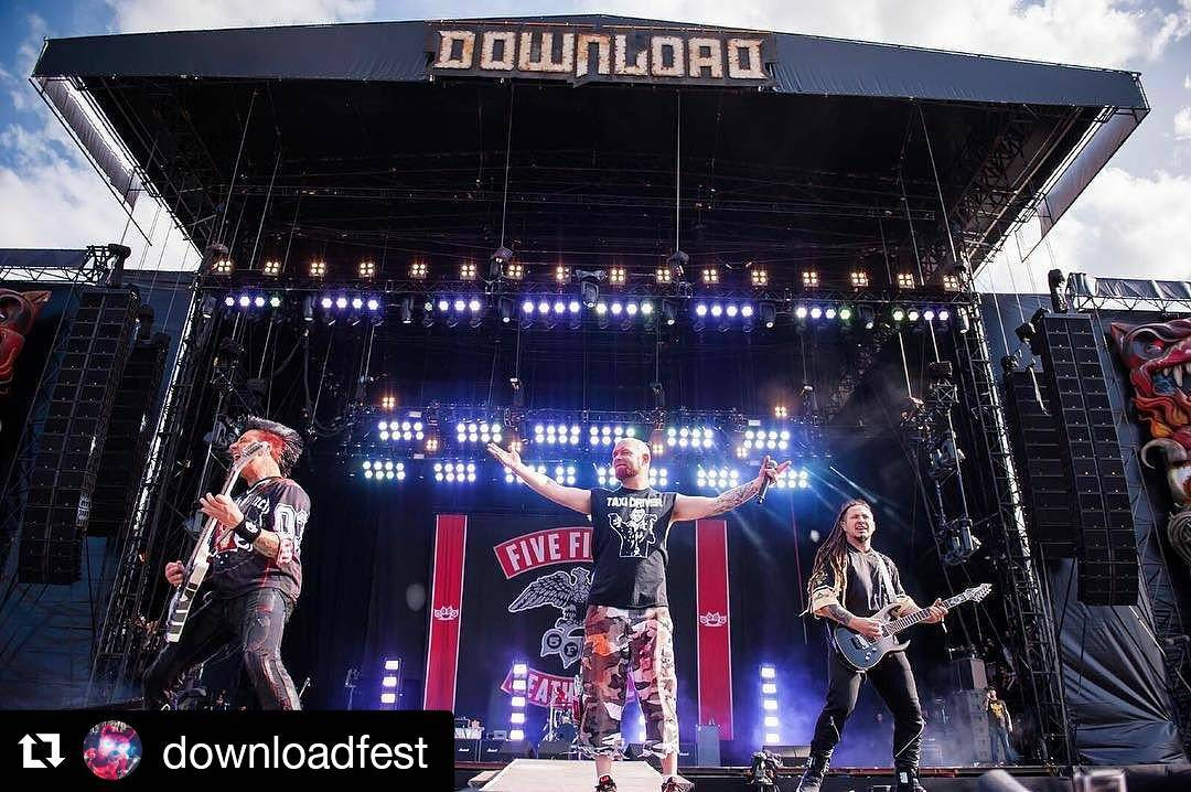 Five Finger Death Punch instagram