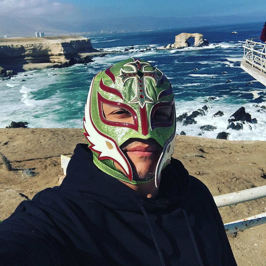 Rey Mysterio Instagram username