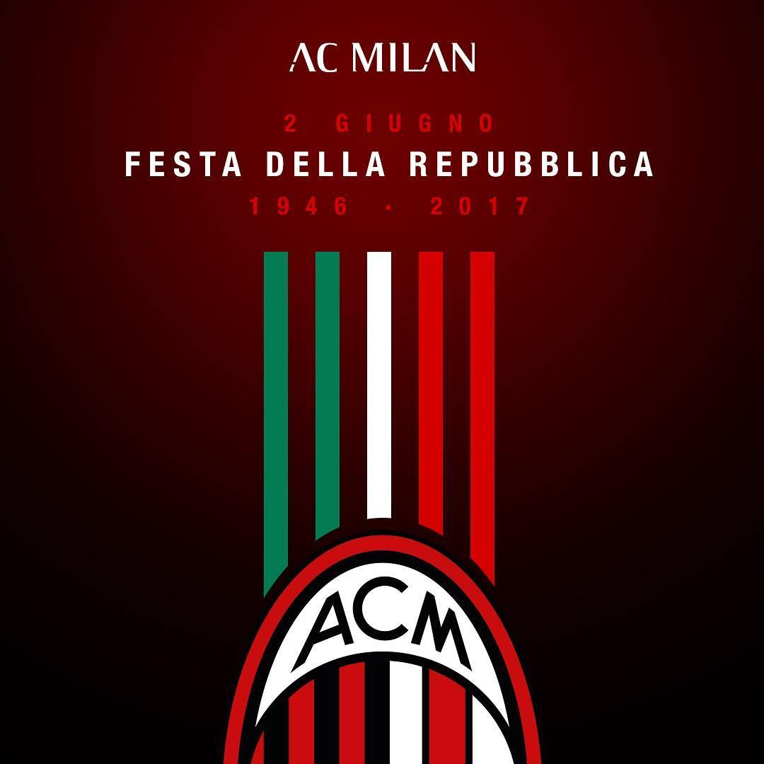 AC Milan Instagram username