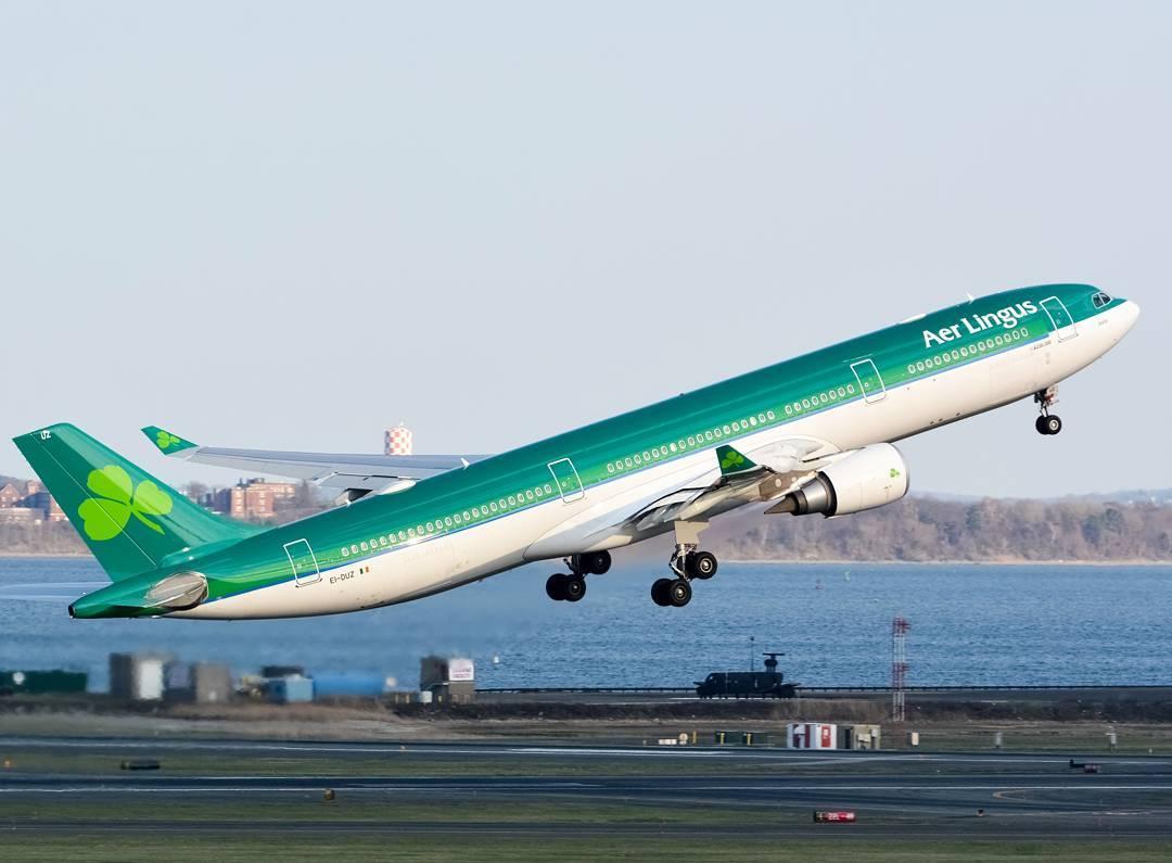 Aer Lingus Instagram username