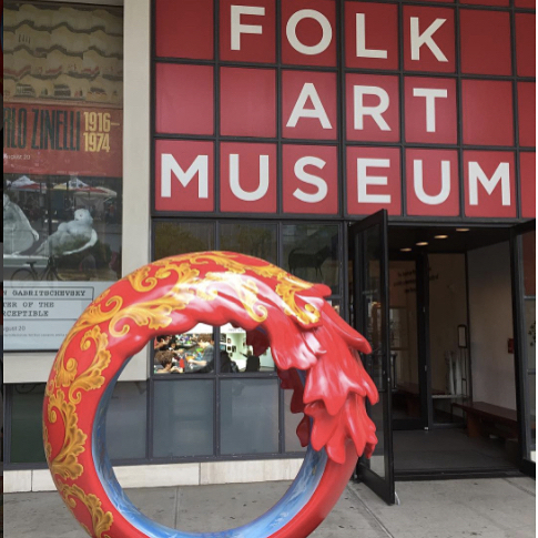 American Folk Art Museum Instagram username