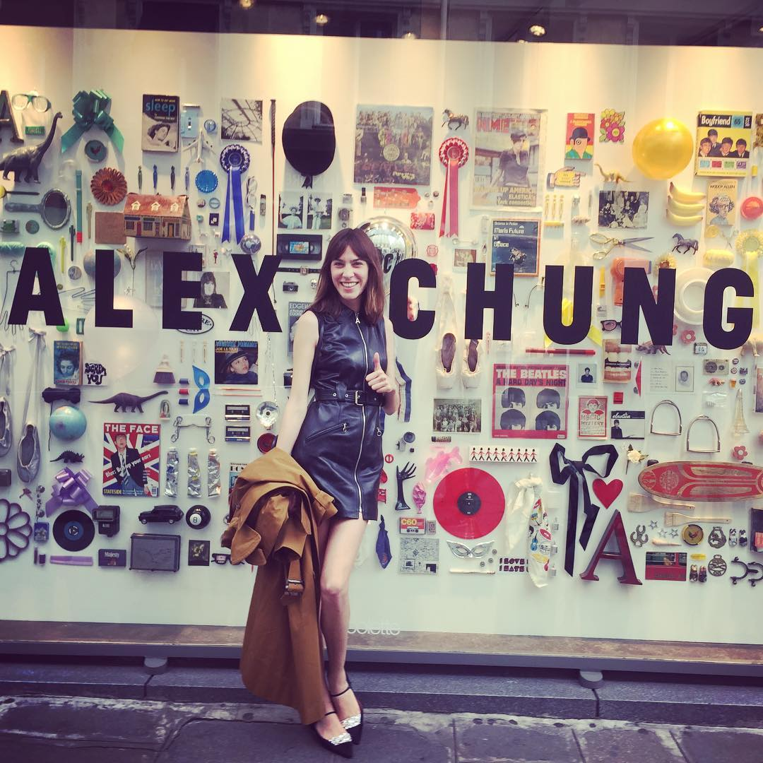 Alexa Chung Instagram username