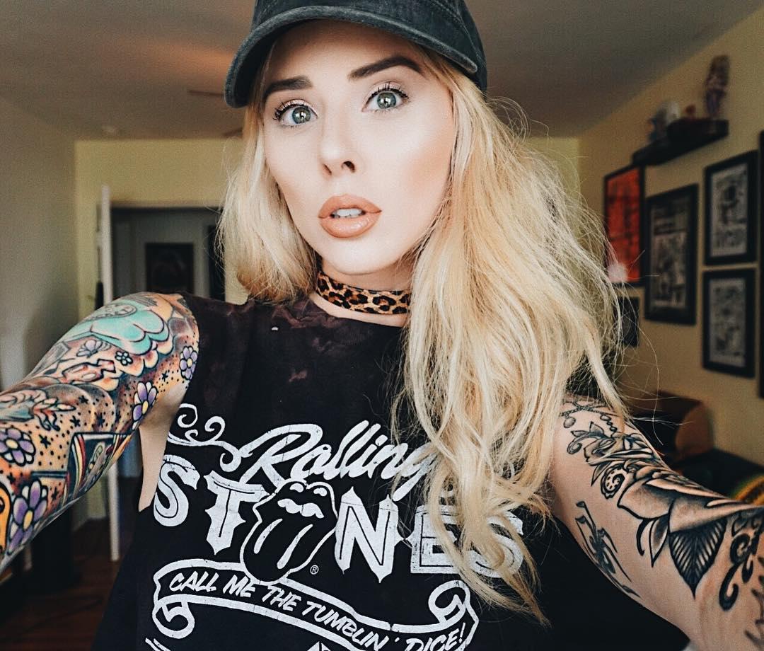 Alysha Nett Instagram username