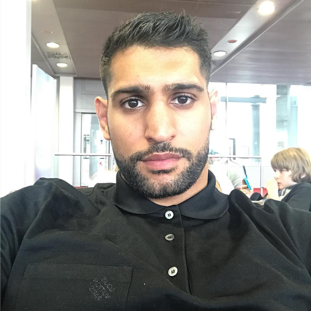 Amir Khan Instagram username