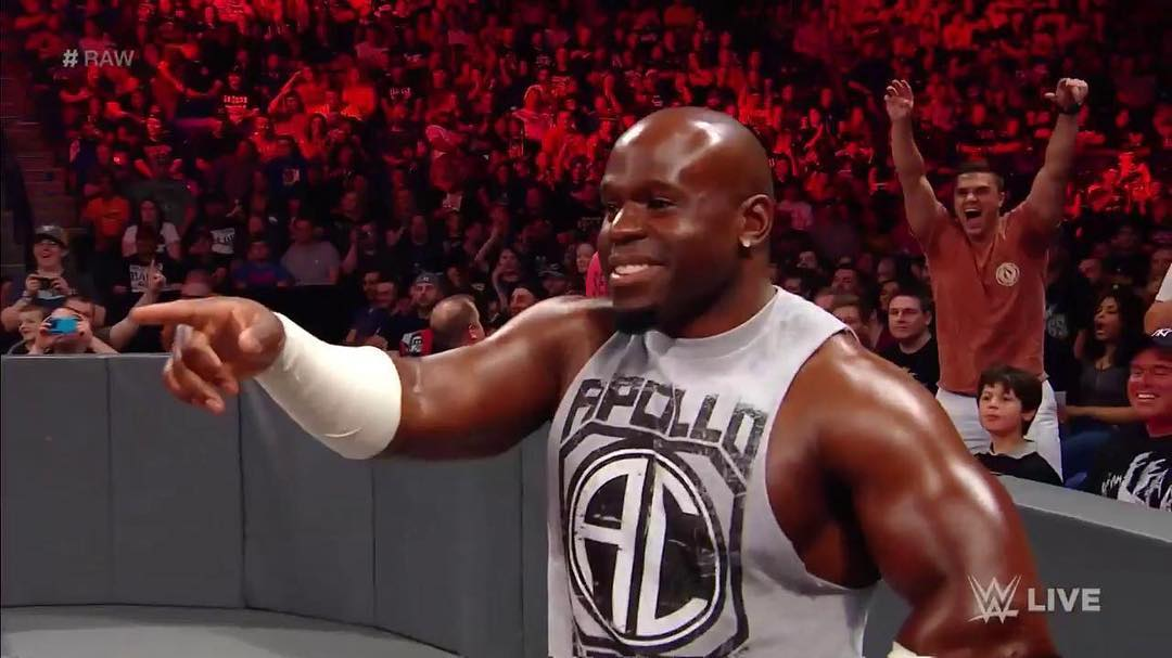 Apollo Crews Instagram username