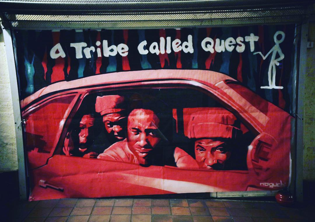 A Tribe Called Quest Instagram username