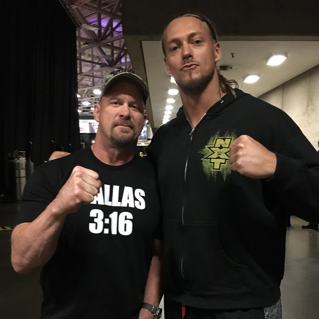 Big Cass Instagram username