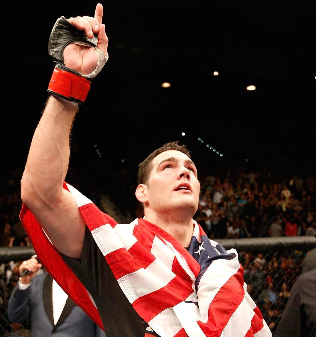 Chris Weidman Instagram username