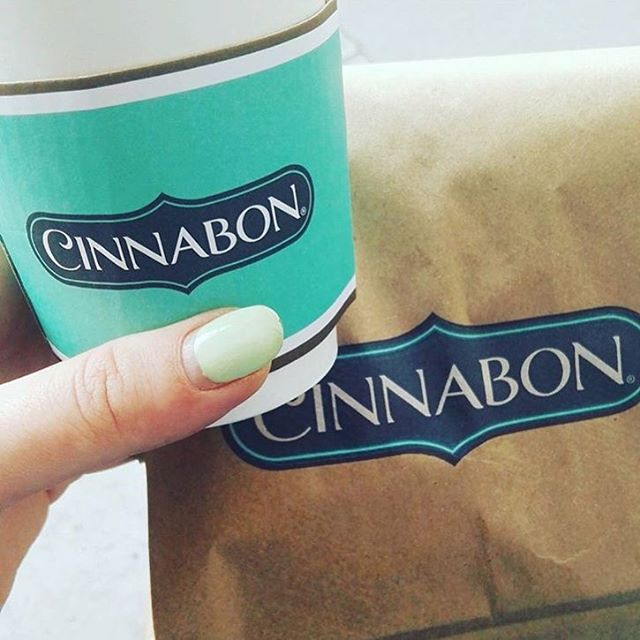 Cinnabon Instagram username