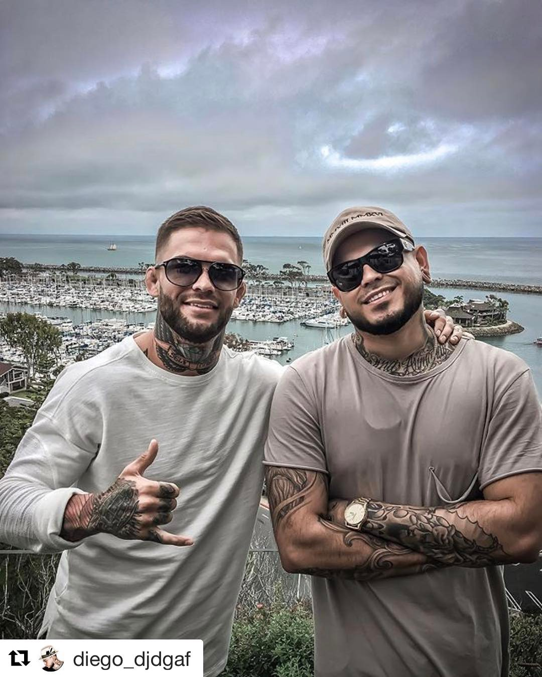 Cody Garbrandt Instagram username