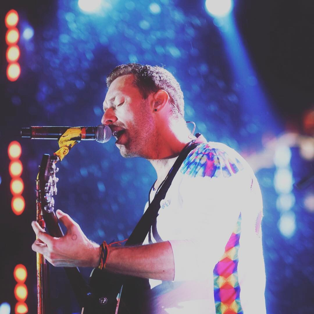 Chris Martin Instagram username