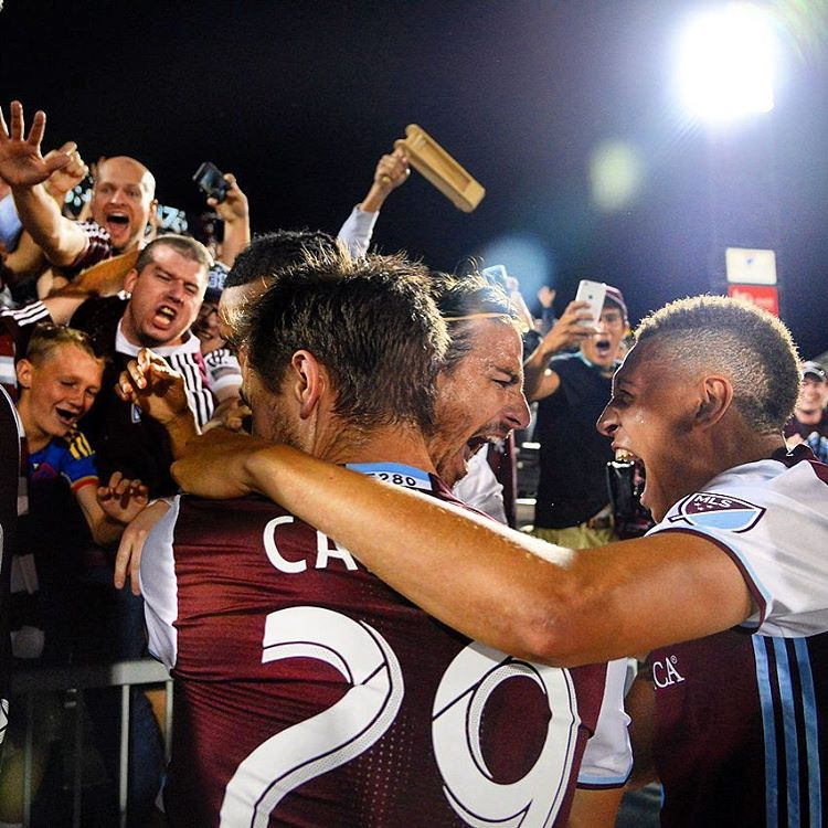 Colorado Rapids Instagram username
