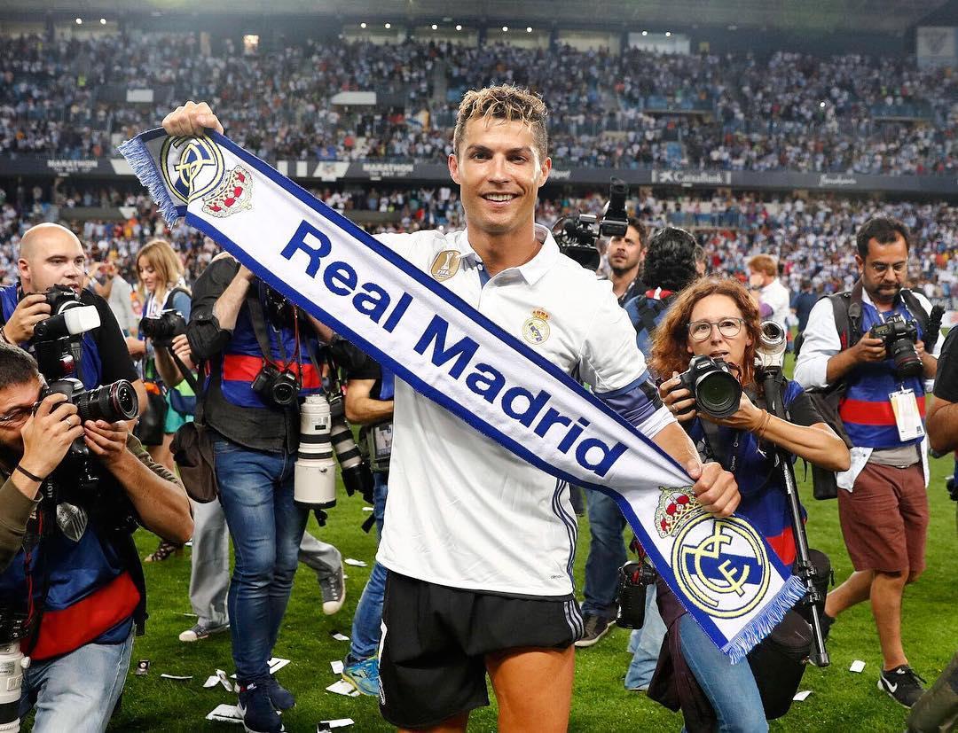 Cristiano Ronaldo Instagram username