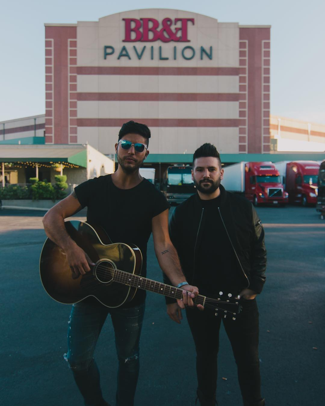 Dan + Shay Instagram username