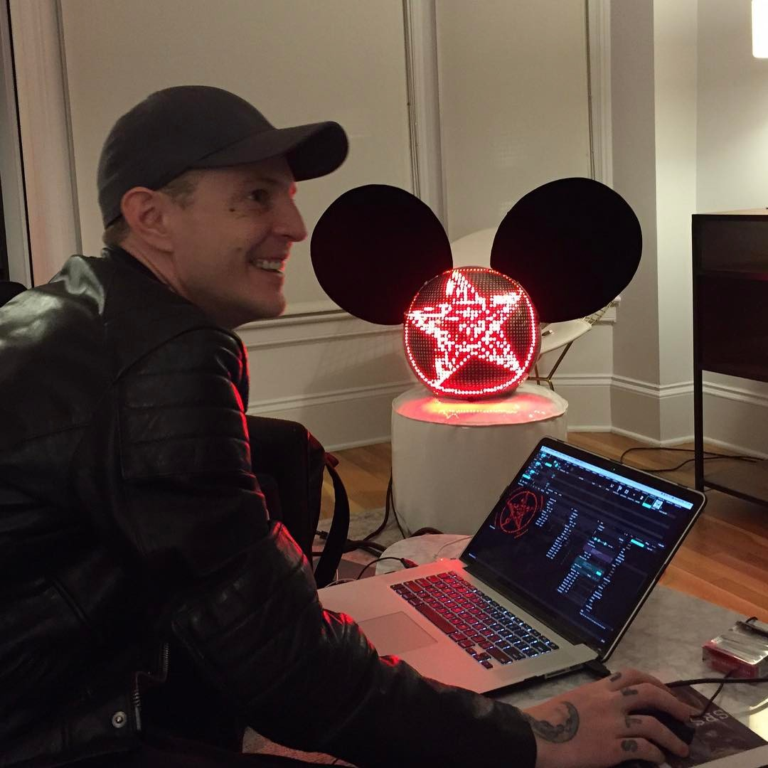 Deadmau5 Instagram username