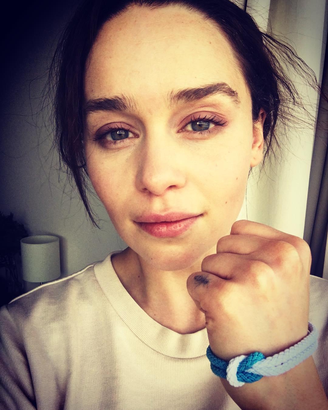 Emilia Clarke Instagram username