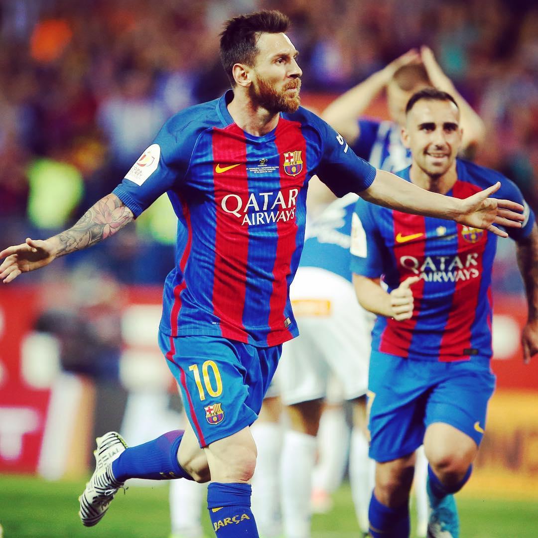 FC Barcelona Instagram username