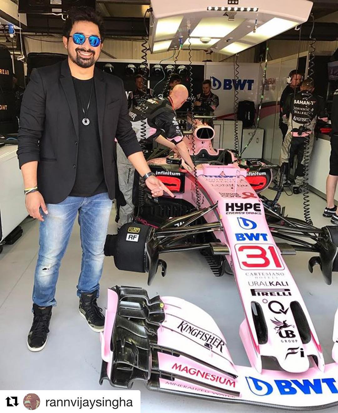 Force India instagram