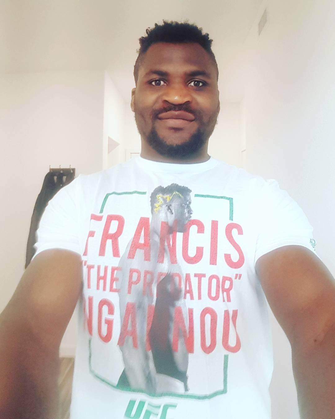 Francis Ngannou Instagram username
