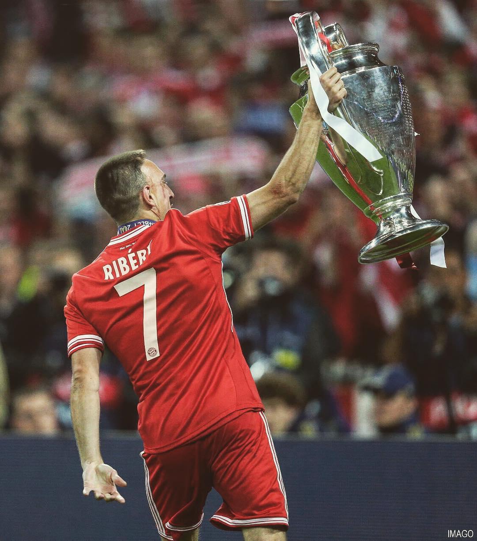 Franck Ribéry Instagram username