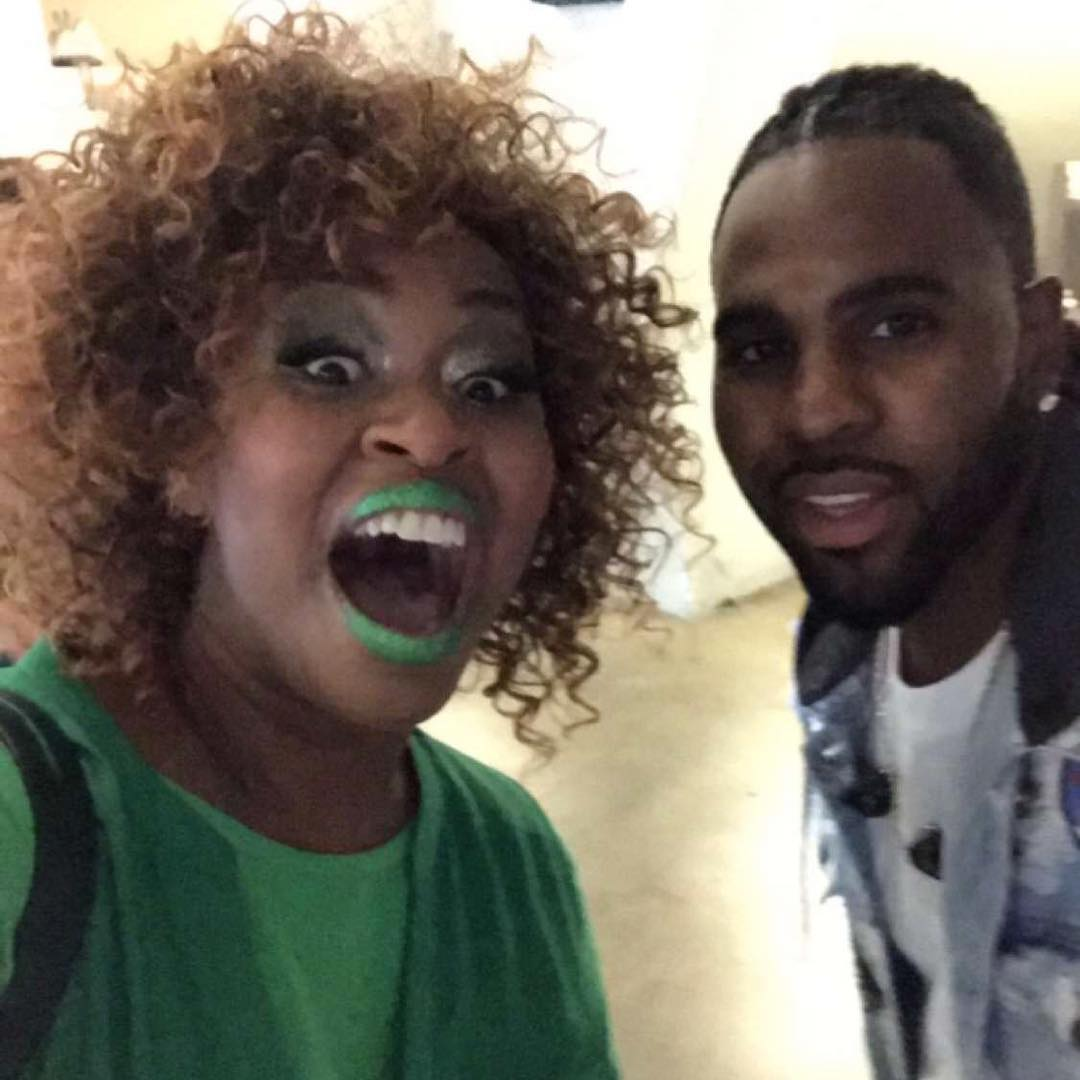 GloZell Green Instagram username