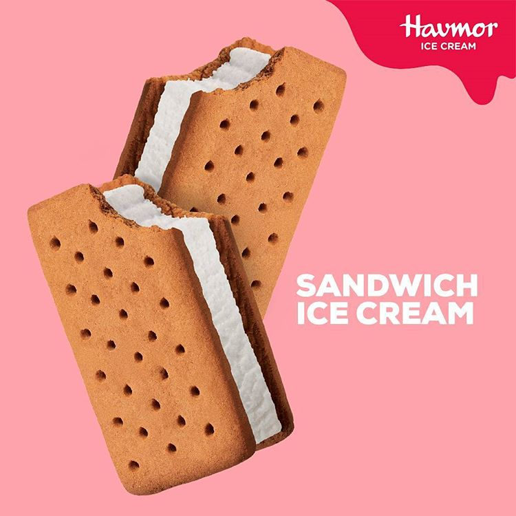 Havmor Ice Cream Instagram username