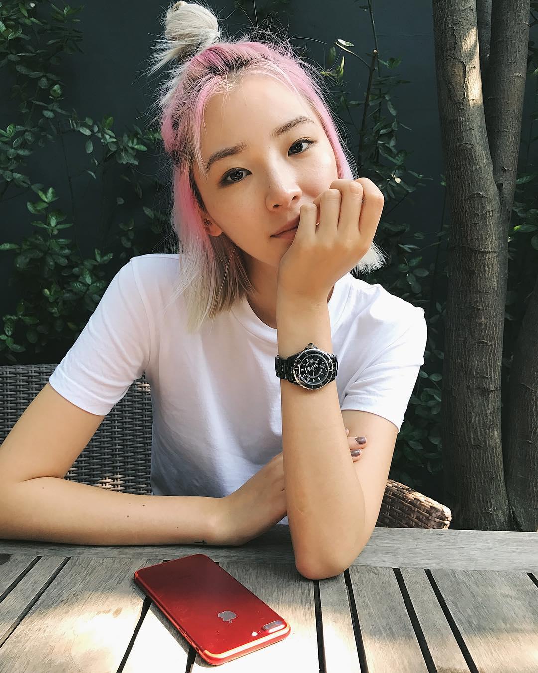 Irene Kim Instagram username