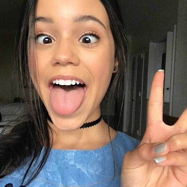 Jenna Ortega Instagram username