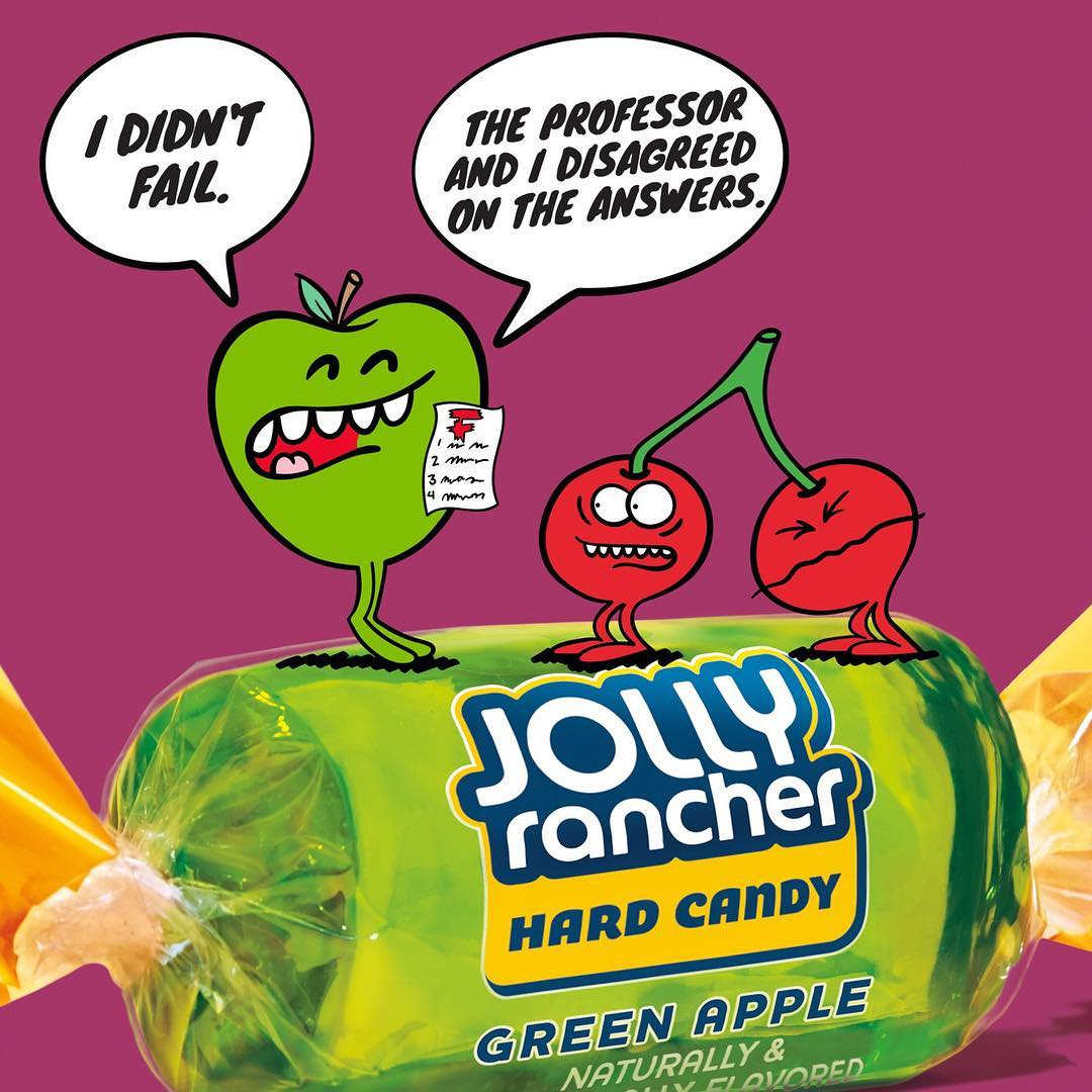 Jolly Rancher Instagram username