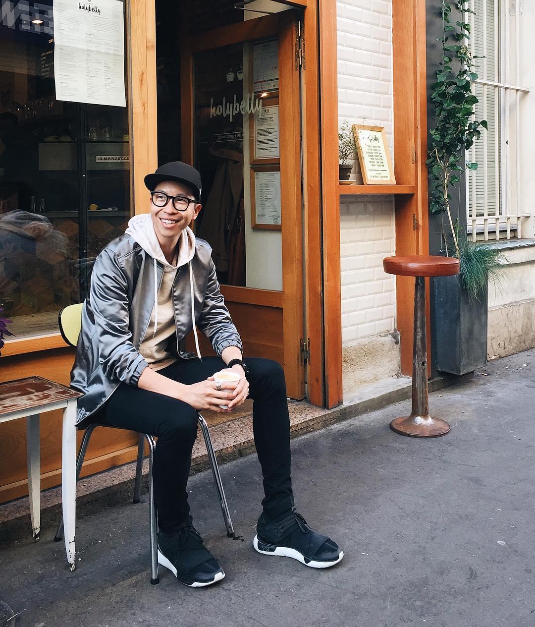 Justin Wu Instagram username