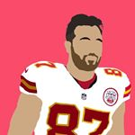 Travis Kelce Instagram username