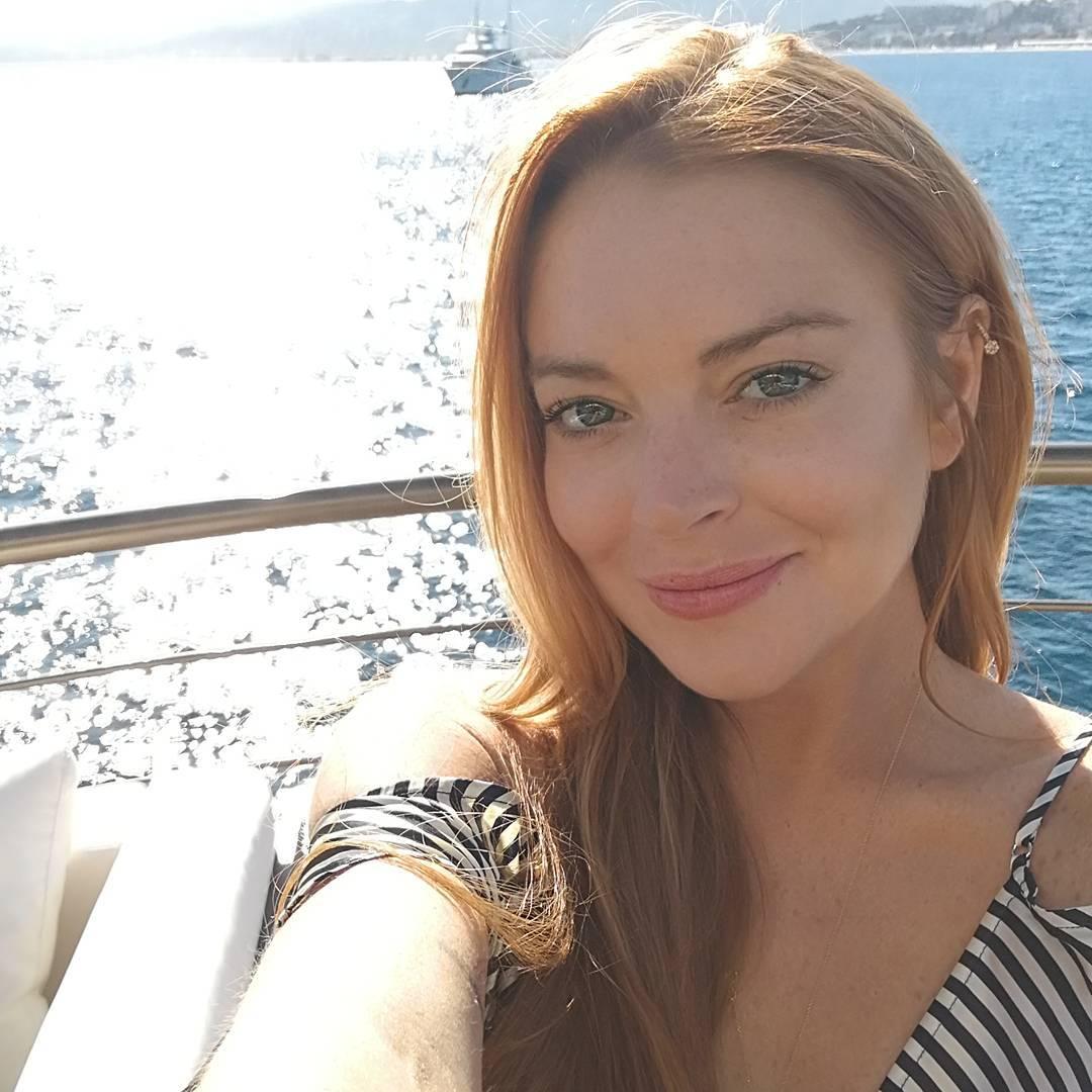 Lindsay Lohan Instagram username