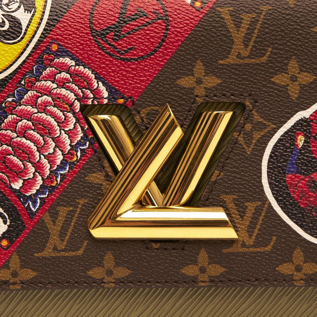 Louis Vuitton Instagram username