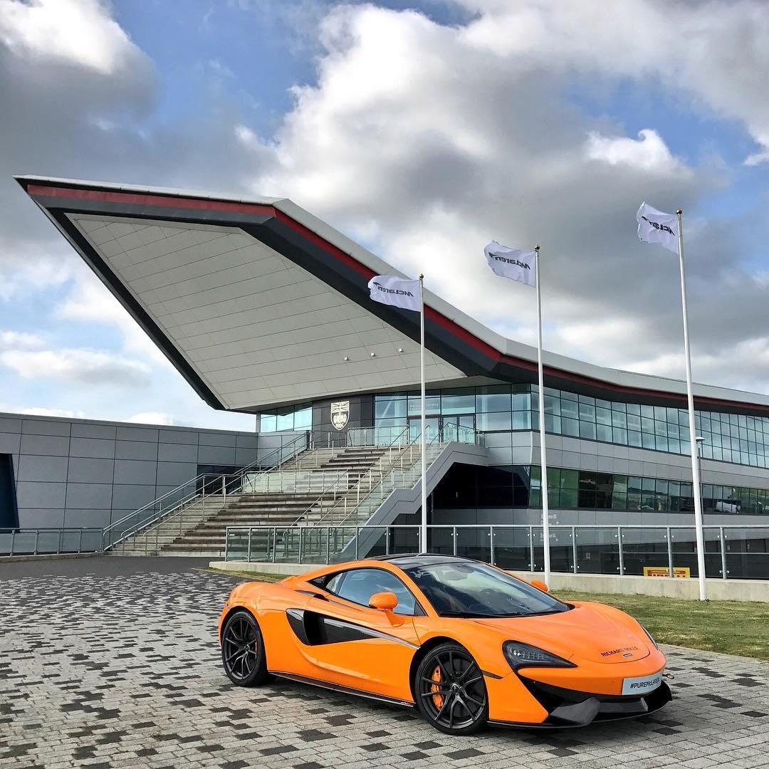 McLaren Instagram username