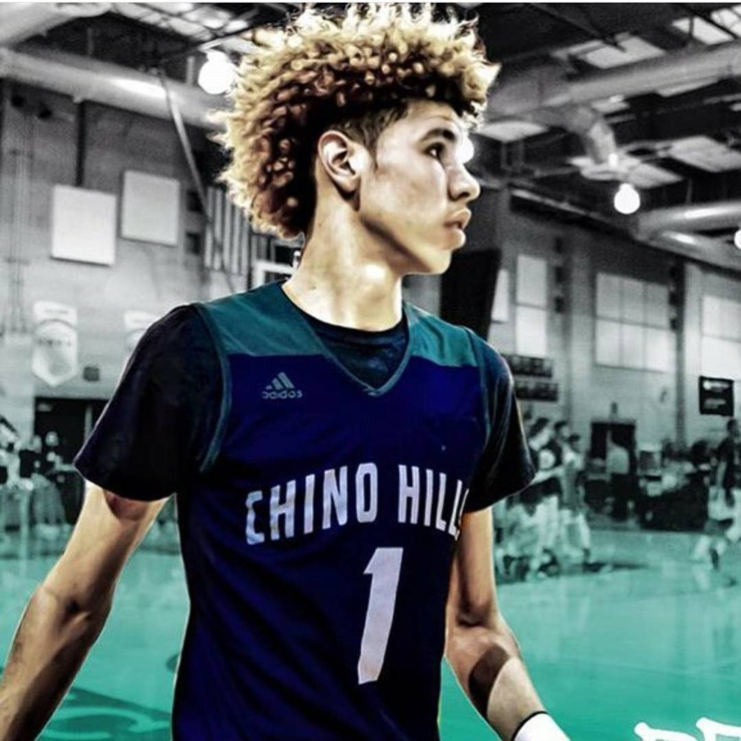LaMelo Ball Instagram username