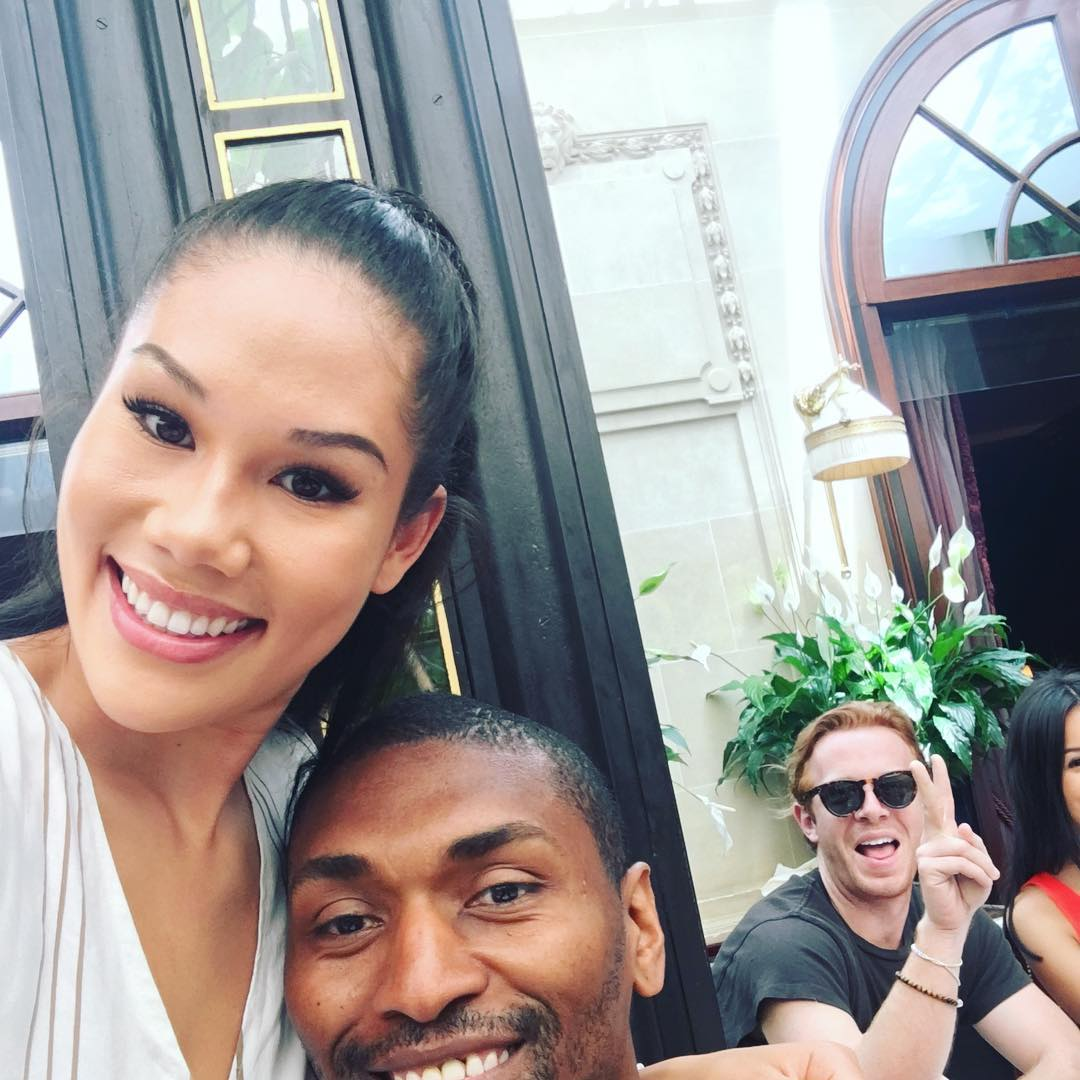 Metta World Peace Instagram username