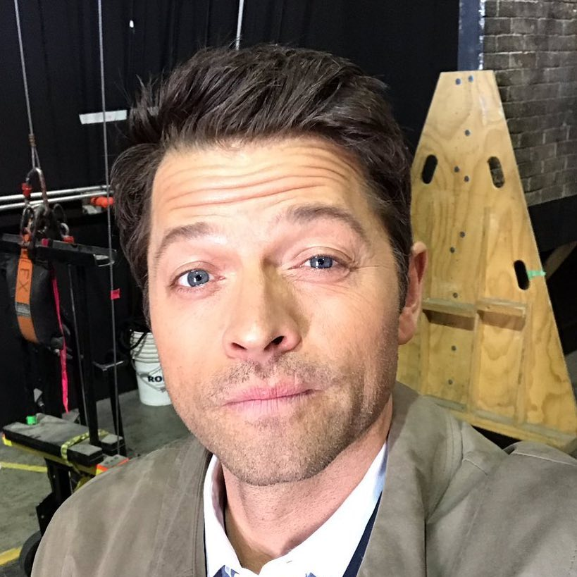 Misha Collins Instagram username