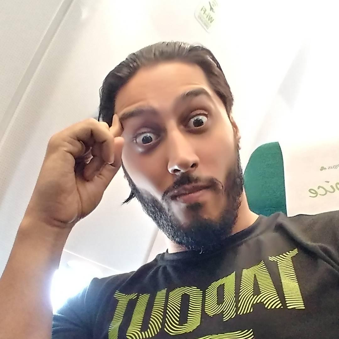 Mustafa Ali Instagram username