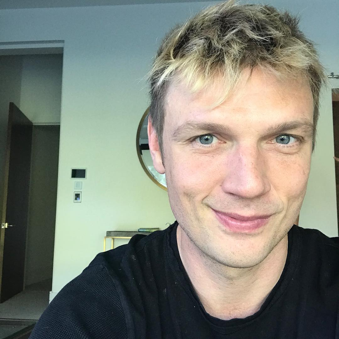 Nick Carter Instagram username