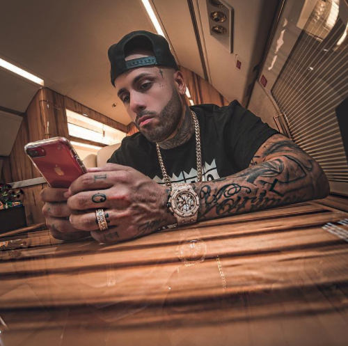 Nicky Jam Instagram username