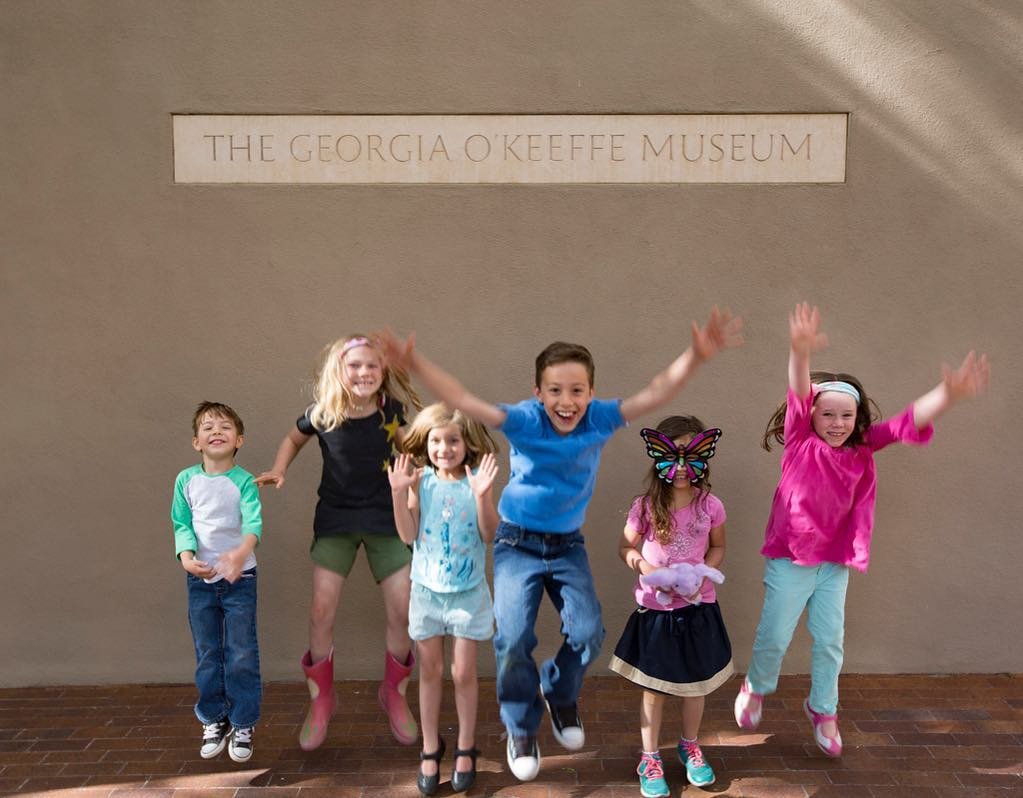 Georgia O'Keeffe Museum Instagram username