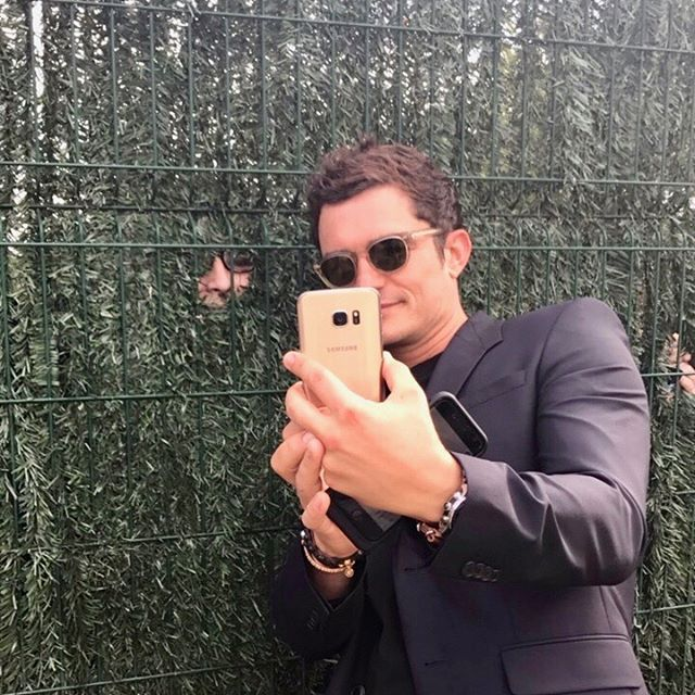 Orlando Bloom Instagram username