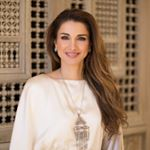 Queen Rania Al Abdullah Instagram username
