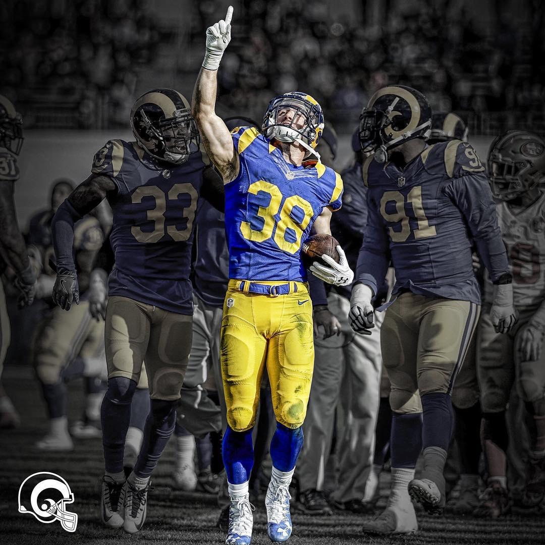LA Rams Instagram username