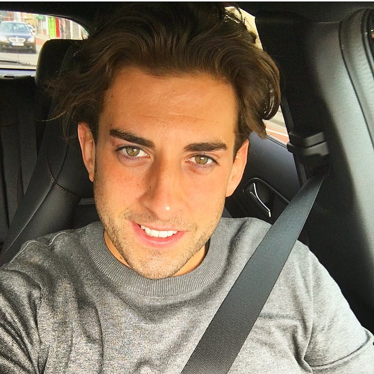 James Argent Instagram username