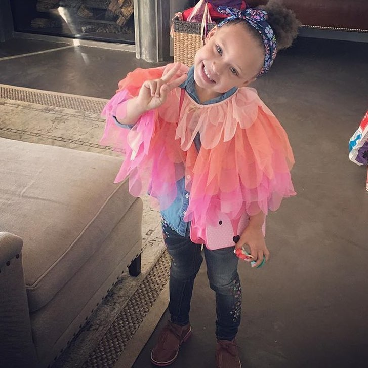 Riley Curry Instagram username
