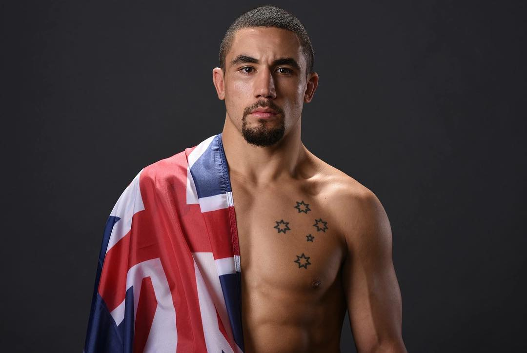 Robert Whittaker Instagram username