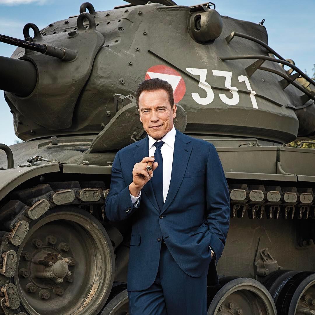 Arnold Schwarzenegger Instagram username